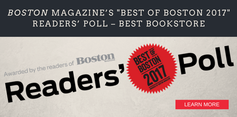 Boston magazine's Best of Boston 2017 Readers' Poll – Best Bookstore