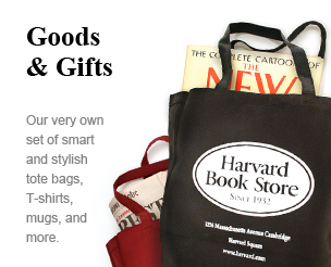 Goods & Gifts: Our very own set of smart and stylish tote bags, T-shirts, mugs, and more.